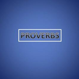 Proverbs!