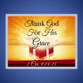 The Indescribable Grace of God