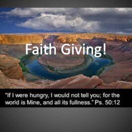 Faith Giving!